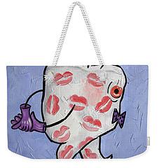 Lipstick Tooth Weekender Tote Bag