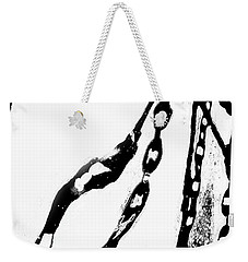 Liquid  Chains  Weekender Tote Bag