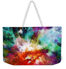 Liquid Colors - Original Weekender Tote Bag by Lilia D