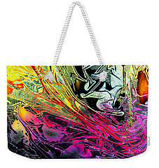 Liquid Decalcomaniac Desires 1 Weekender Tote Bag by Otto Rapp