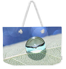 Liquid Drop Weekender Tote Bag