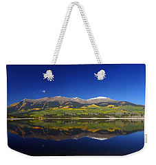 Liquid Mirror Weekender Tote Bag by Jeremy Rhoades