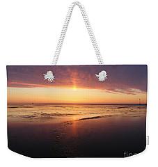 Liquid Sunrise Weekender Tote Bag