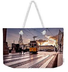 Lisbon Light Weekender Tote Bag