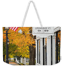 Litchfield Connecticut Weekender Tote Bag
