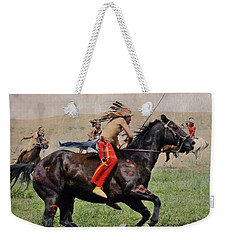 Little Bighorn Reenactment 1 Weekender Tote Bag