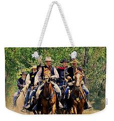Little Bighorn Reenactment 2 Weekender Tote Bag by Kae Cheatham