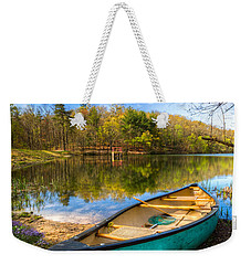 Little Bit Of Heaven Weekender Tote Bag by Debra and Dave Vanderlaan