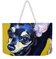 Little Bitty Chihuahua Weekender Tote Bag