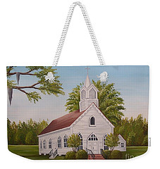 Little Chapel Weekender Tote Bag