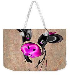 Little Cow Weekender Tote Bag