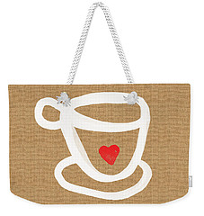 Little Cup Of Love Weekender Tote Bag