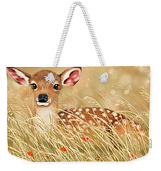 Little Fawn Weekender Tote Bag by Veronica Minozzi