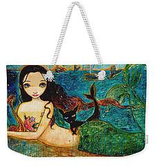 Little Mermaid Weekender Tote Bag by Shijun Munns