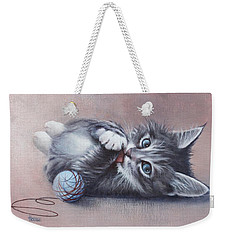 Little Mischief Weekender Tote Bag by Cynthia House