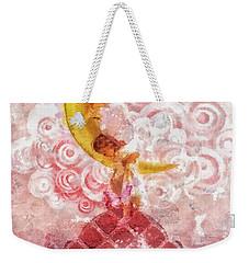Little Princess Weekender Tote Bag by Mo T