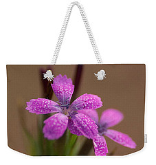 Little Purple Weekender Tote Bag by WB Johnston