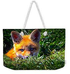 Little Red Fox Weekender Tote Bag