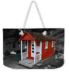 Little Red School House Weekender Tote Bag by Richard J Cassato