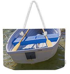 Little Rowboat Weekender Tote Bag by Verena Matthew