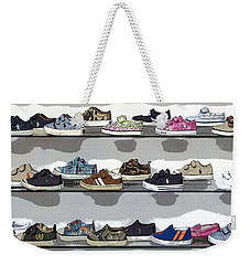 Little Sneakers Weekender Tote Bag