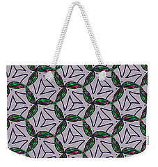 Weekender Tote Bag featuring the digital art Little Something For The Nest by Elizabeth McTaggart
