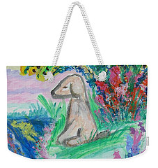 Little Sweet Pea Weekender Tote Bag