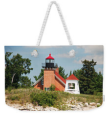 Little Traverse Lighthouse No.2 Weekender Tote Bag