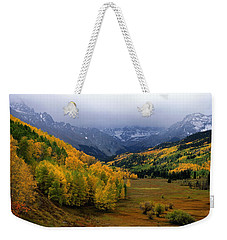 Little Meadow Of The Sublime Weekender Tote Bag by Eric Glaser