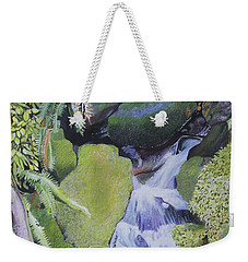 Small Waterfall Weekender Tote Bag