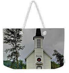 Little White Church Weekender Tote Bag