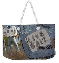 Live Bait And The Man Weekender Tote Bag