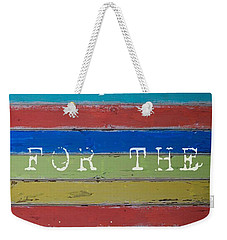 Weekender Tote Bag featuring the photograph Live For The Moment by Jocelyn Friis