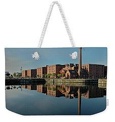 Weekender Tote Bag featuring the photograph Liverpool Canning Docks by Jonah  Anderson