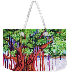 Living Banyan Tree Weekender Tote Bag
