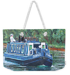 Living On The River Weekender Tote Bag
