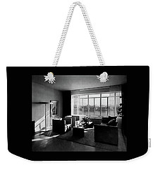 Living Room In The Ny Home Of Edward M. M Weekender Tote Bag