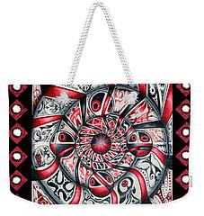 Living Spiral Weekender Tote Bag