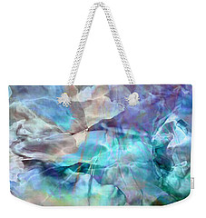 Living Waters - Abstract Art Weekender Tote Bag by Jaison Cianelli