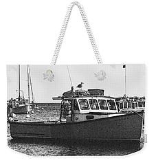 Lobster Boat Weekender Tote Bag