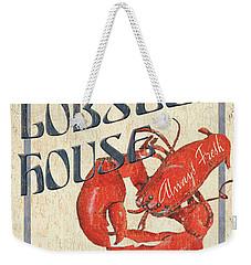 Lobster House Weekender Tote Bag by Debbie DeWitt