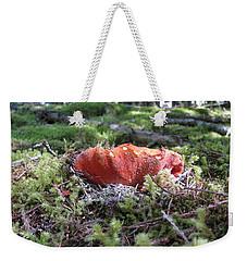 Lobster Mushroom Weekender Tote Bag by Leone Lund