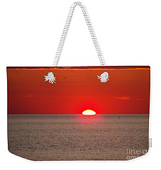 Lobster Pots Dance In The Sea  At Sunrise Weekender Tote Bag