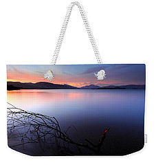 Weekender Tote Bag featuring the photograph Loch Lomond Sunset by Grant Glendinning