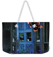 Locked Blue Door  Weekender Tote Bag