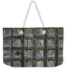 Locked Door Weekender Tote Bag by Ron Harpham