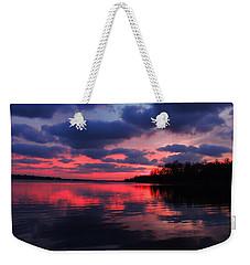 Locust Sunset Weekender Tote Bag
