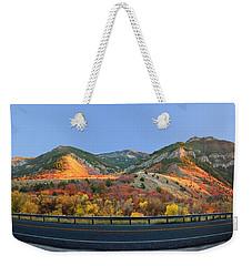 Logan Canyon Weekender Tote Bag