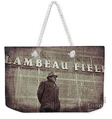 Lombardi At Lambeau Weekender Tote Bag