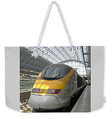 London Arrival Weekender Tote Bag